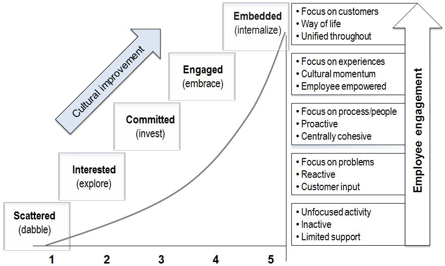 Culture Customer Experience Maturity